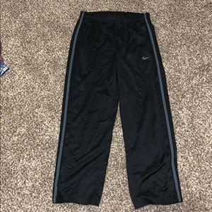 Nike black sweatpants large